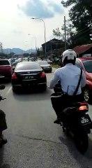 Cop opens fire on speeding vehicle evading arrest