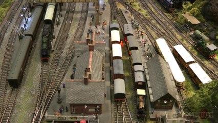 Trains miniatures à l'échelle N: La maquette «Rockcliffe» de David et John Riddle - Maquettisme, modélisme et chemin de fer de Pilentum Télévision