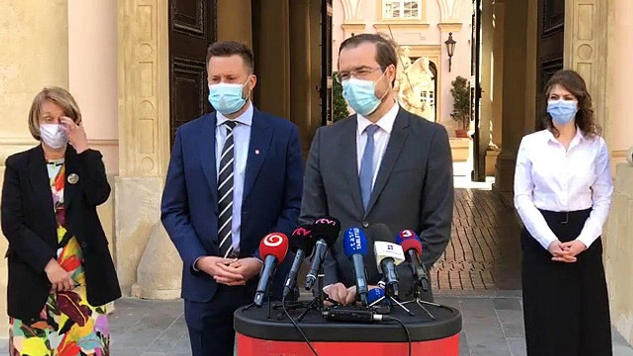 ZÁZNAM: TK ministra zdravotníctva M. Krajčího a primátora Bratislavy M. Valla