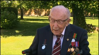 'I'm still Tom Moore': Captain Tom on knighthood