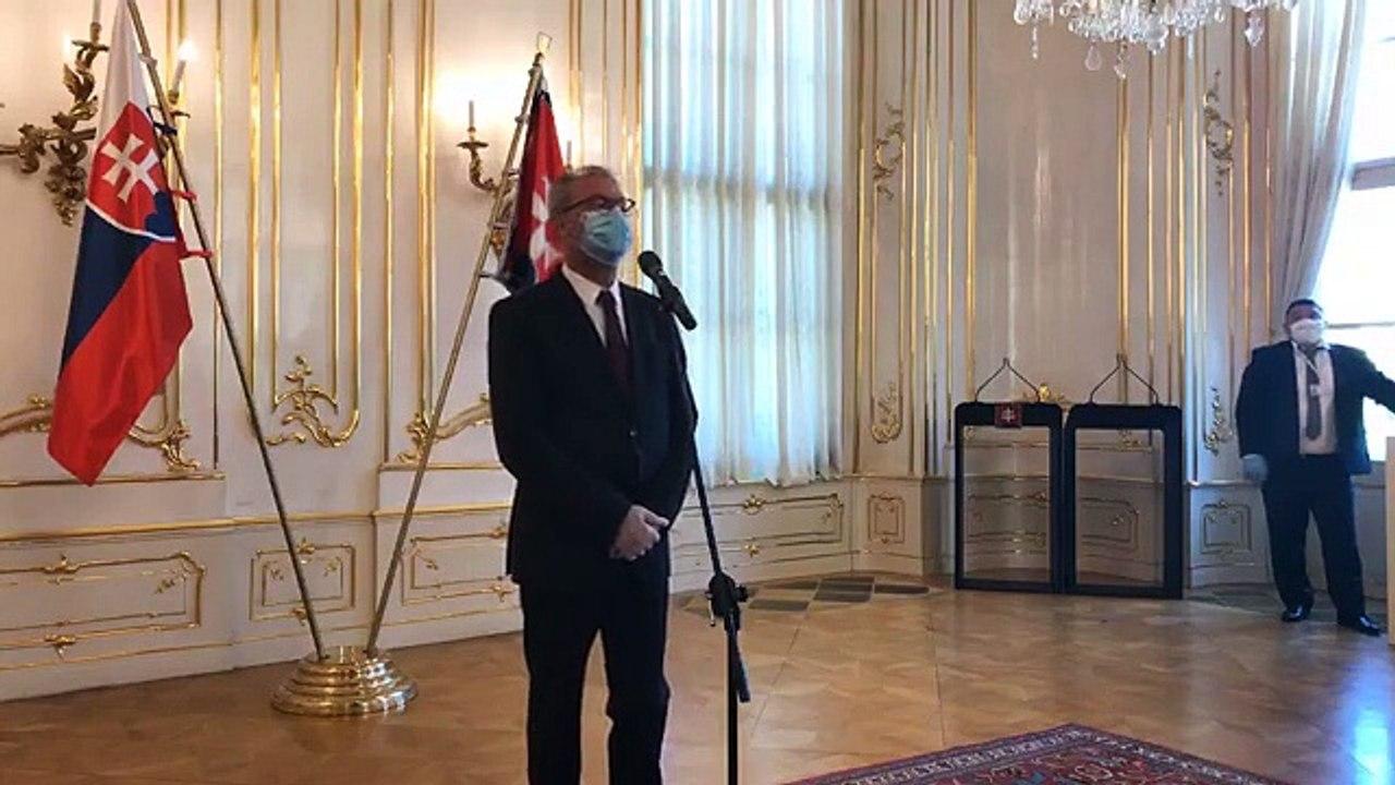 ZÁZNAM: Brífing predsedu Najvyššieho súdu (NS) SR Jána Šikutu