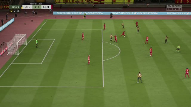 US Orléans - Le Mans FC : notre simulation FIFA 20 (L2 - 36e journée)