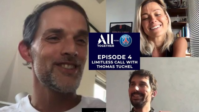 All at Home part 4 with Thomas Tuchel, Romain and Laure Boulleau