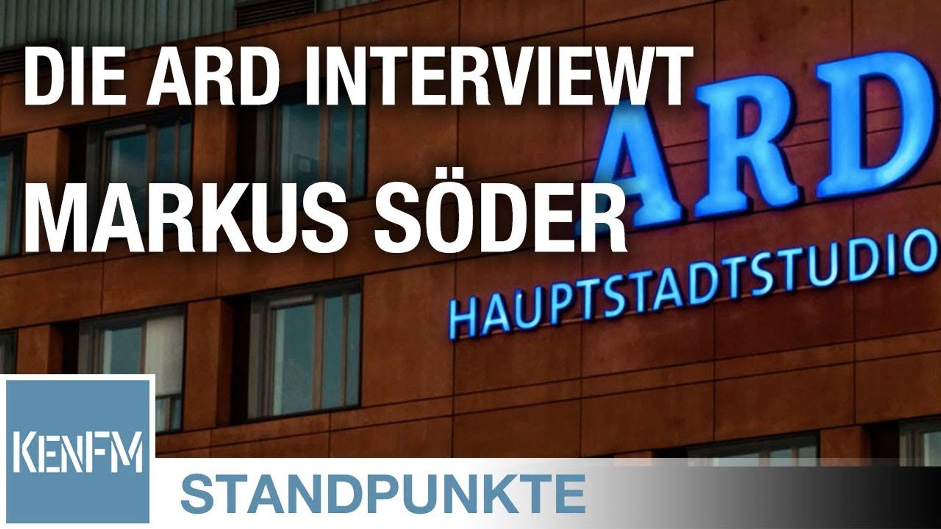 STANDPUNKTE • Die ARD interviewt Markus Söder – ein Schandfleck auf dem deutschen Journalismus