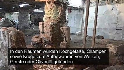 Uralte unterirdische Räume nahe der Klagemauer in Jerusalem entdeckt