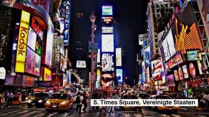 Hier sind die 10 meistfotografierten Orte der Welt auf Instagram