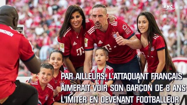 "Football : Ribéry ""rêve"" de voir son fils Seïf devenir professionnel"
