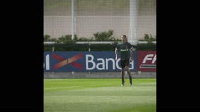 CR7 de retour à l'entraînement avec la Juventus !