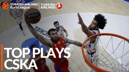 Top Plays: CSKA Moscow