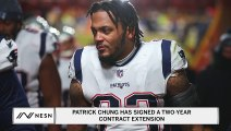 Patrick Chung Has Signed A Two-Year Contract Extension With The New England Patriots