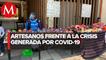Artesanos cambian muñeca por comida en CdMx