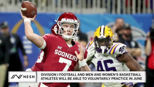 Division I Football and Men and Women's Basketball Athletes Will Be Able To Voluntarily Practice In June