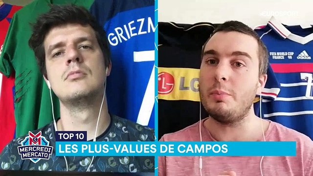 380 millions de plus-value mais pas que : Campos, meilleur recruteur d'Europe