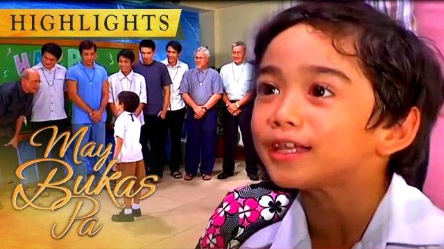 Santino proudly presents his family to his classmates | May Bukas Pa