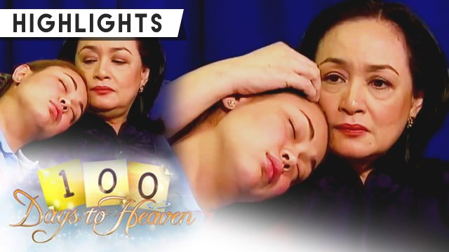 Anna lets Sophia sleep on her shoulder | 100 Days To Heaven