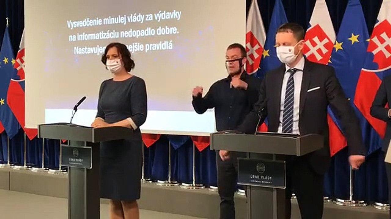 ZÁZNAM: TK podpredsedníčky vlády SR pre investície a informatizáciu V.Remišovej