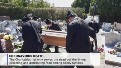 French brotherhood keeps burying the dead amid pandemic