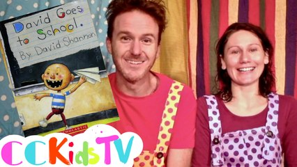 Tales From The Trunk | David Goes To School | Read Aloud | Story Book For Kids | CC Kids Tv