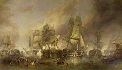 Trafalgar, la mayor batalla naval de la historia moderna