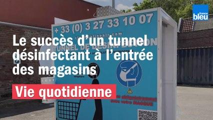 Déconfinement : le monde entier s'arrache des tunnels désinfectants fabriqués dans le Nord