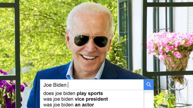 Joe Biden Answers the Web's Most Searched Questions