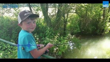 La leçon de pêche à la truite de Basile, 7 ans