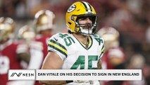 Patriots Fullback, Dan Vitale Shares His Thoughts On Signing With New England This Offseason