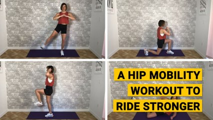 A Hip Mobility Workout to Ride Stronger