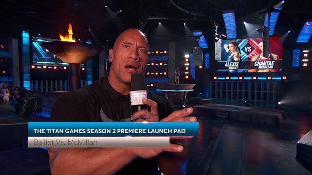 The Titan Games Season 2 Premiere LAUNCH PAD - Balliet Vs. McMillan
