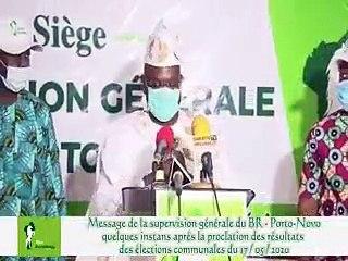 Message du ministre Jean-Claude Houssou superviseur général du BR aux militants de Porto-Novo