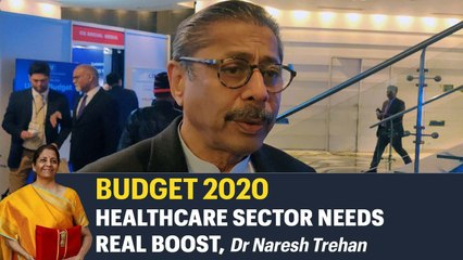Indian healthcare sector require more funds, Naresh Trehan