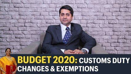 Budget 2020: Customs duty changes to boost Make in India campaign, says Krishnan Agarwal