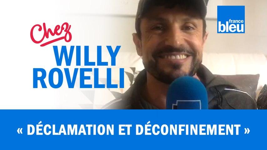 HUMOUR   Déclamation et Déconfinement - Willy Rovelli met les points sur les i