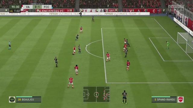 Valenciennes FC - FC Chambly Oise : notre simulation FIFA 20 (L2 - 38e journée)