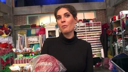 """Lourdes Montes aclara que """"no hay polémica"""" con la profesión de su marido"""