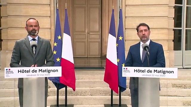 Second tour des municipales : les déclarations d'Édouard Philippe et Christophe Castaner