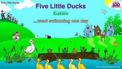 Kidzone - Five Little Ducks