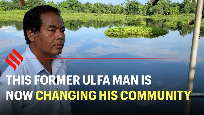 This former ULFA man is now changing his community