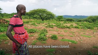 Fighting a locust plague amid Covid-19 in east Africa – video