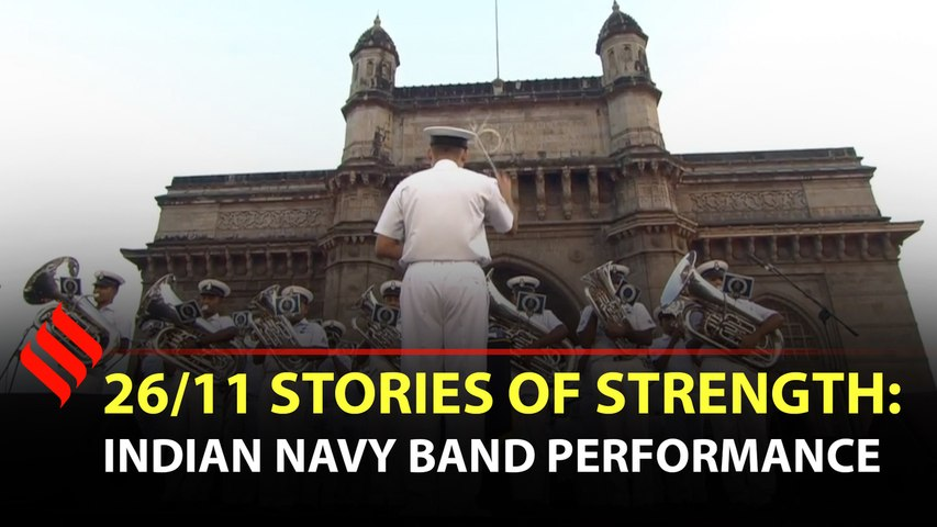 Indian Navy band performs at the 26/11 Stories of Strength event