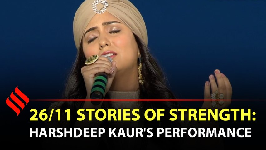 Harshdeep Kaur pays tribute to 26/11 victims