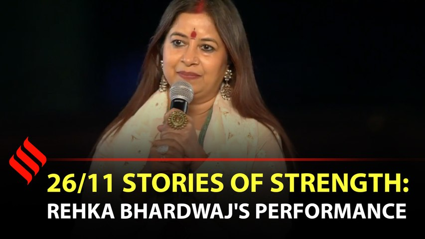 """Rekha Bhardwaj gives a soulful performs for """"love and peace"""""""