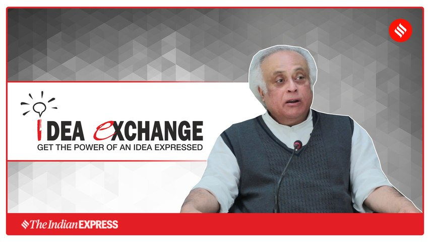 Idea Exchange With Congress Rajya Sabha MP Jairam Ramesh