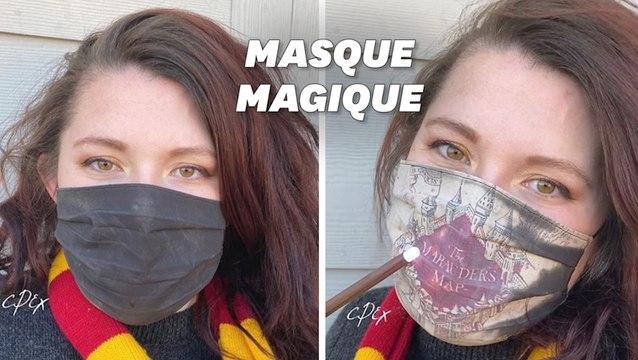 """Ce masque """"Carte du Maraudeur"""" va ravir les fans de Harry Potter"""