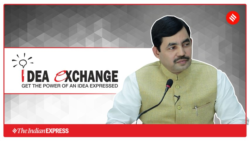 Idea Exchange with BJP spokesperson Shahnawaz Hussain