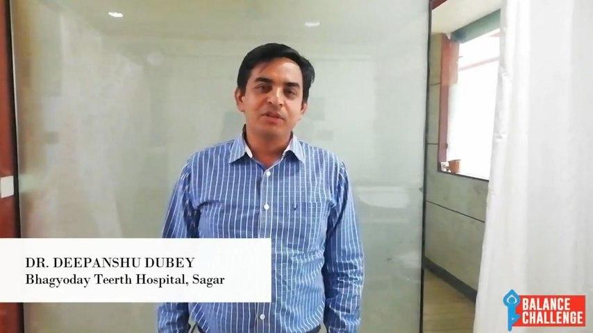 Dr Deepanshu Dubey On Balance Disorders
