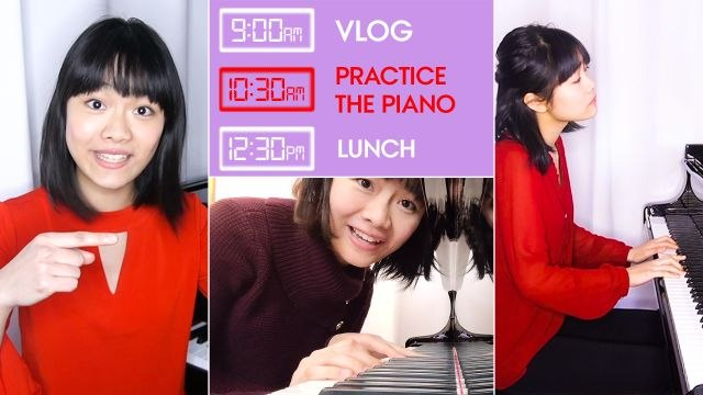 Professional Pianist's Daily Routine 1 Week Before a Show