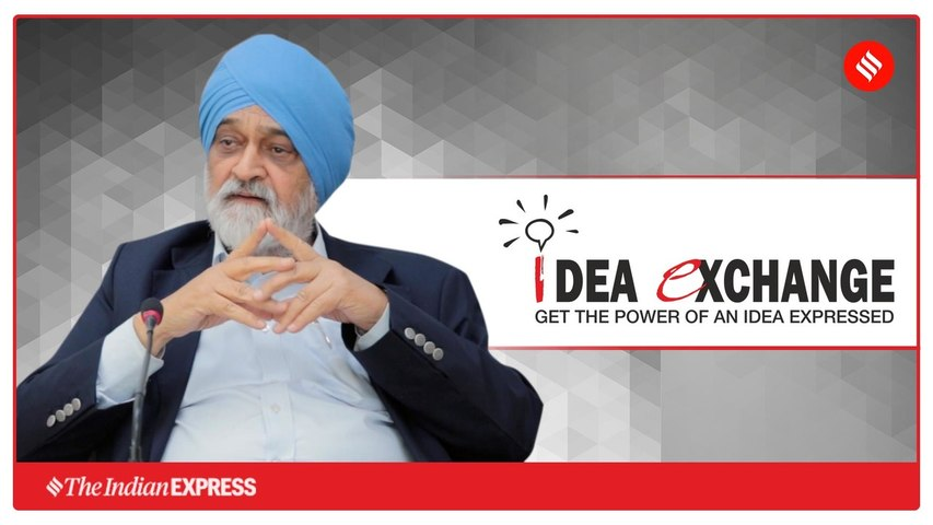 Idea Exchange with Montek Singh Ahluwalia