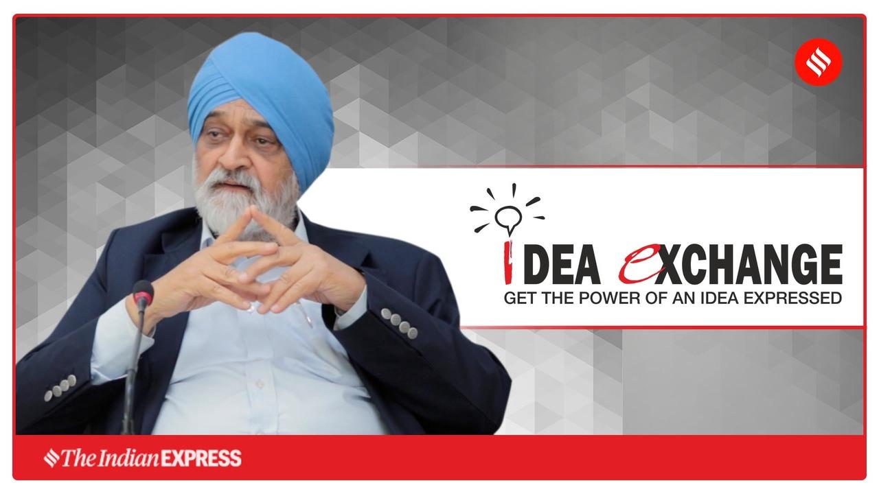 Idea Exchange with Montek Singh Ahluwalia