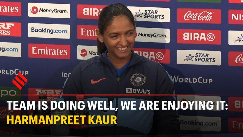 Team is doing well, we are enjoying it: Skipper Harmanpreet Kaur